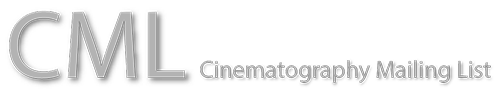 CML - Cinematography Mailing List